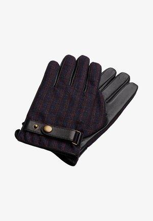 HOUNDSTOOTH BARBERIS - Gloves - burgundy
