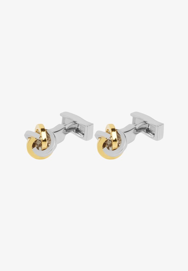 Cufflinks - silved/gold-coloured