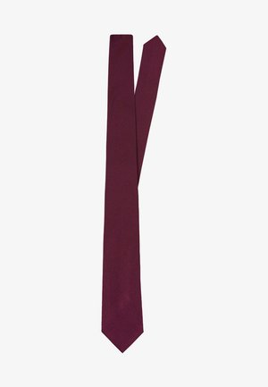 SLIM BOGART - Tie - burgundy