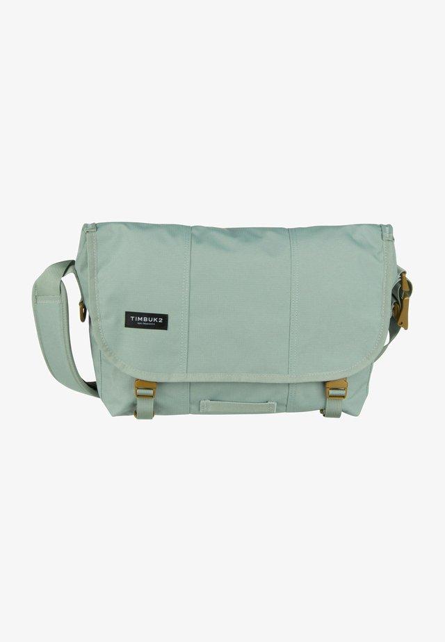 Across body bag - eucalyptus/brass
