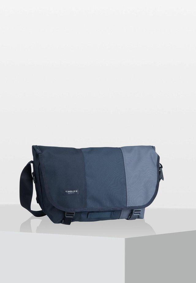 CLASSIC  - Across body bag - mottled blue
