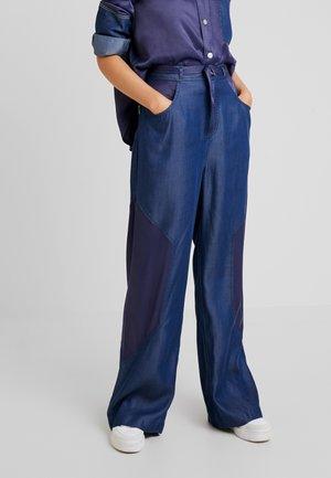 NINA IN - Spodnie materiałowe - indigo