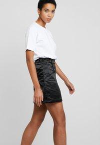 Tiger of Sweden Jeans - WHALE - A-line skirt - black - 3