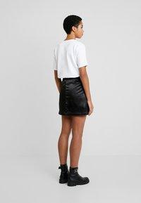 Tiger of Sweden Jeans - WHALE - A-line skirt - black - 2
