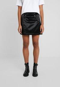 Tiger of Sweden Jeans - WHALE - A-line skirt - black - 0