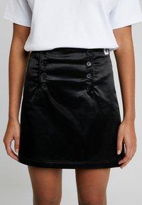 Tiger of Sweden Jeans - WHALE - A-line skirt - black - 5