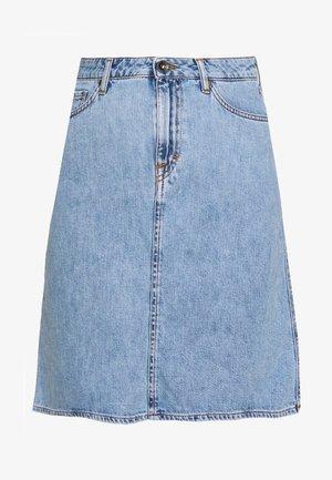 LIZ - A-line skirt - light blue