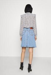Tiger of Sweden Jeans - LIZ - A-line skirt - light blue - 2