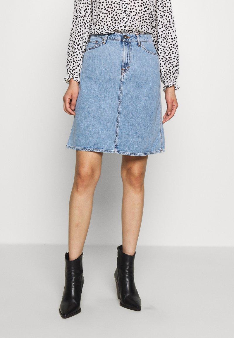 Tiger of Sweden Jeans - LIZ - A-line skirt - light blue