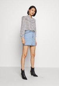 Tiger of Sweden Jeans - VIVA - A-line skirt - light blue - 1