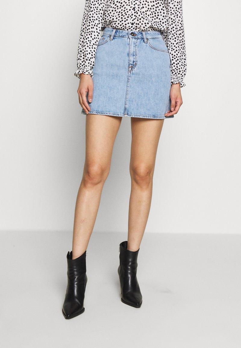 Tiger of Sweden Jeans - VIVA - A-line skirt - light blue