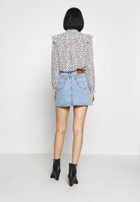 Tiger of Sweden Jeans - VIVA - A-line skirt - light blue - 2