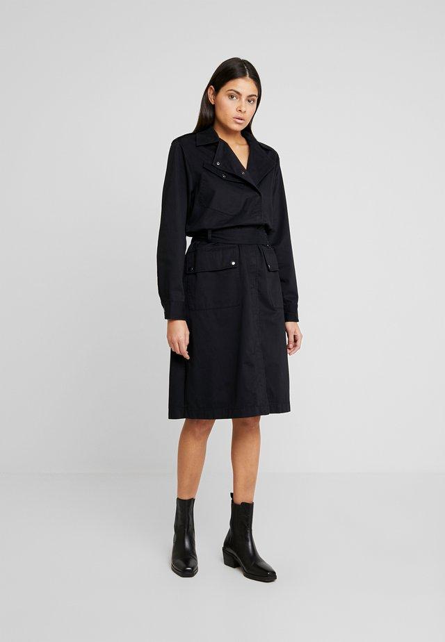 TRUDY - Shirt dress - black