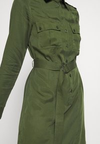 Tiger of Sweden Jeans - FLORENCE. - Shirt dress - deep green - 5