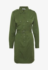 Tiger of Sweden Jeans - FLORENCE. - Shirt dress - deep green - 4