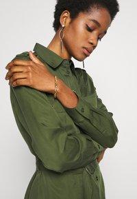 Tiger of Sweden Jeans - FLORENCE. - Shirt dress - deep green - 3