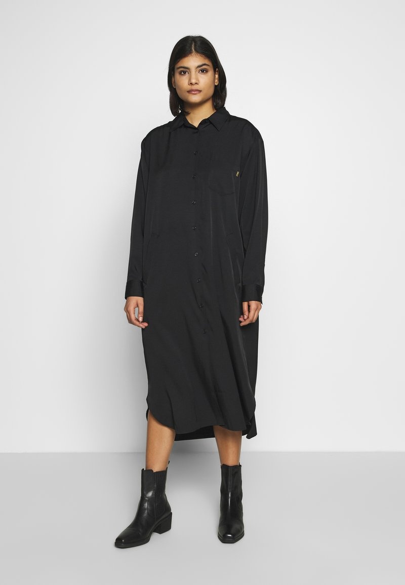 Tiger of Sweden Jeans - CADET - Shirt dress - black