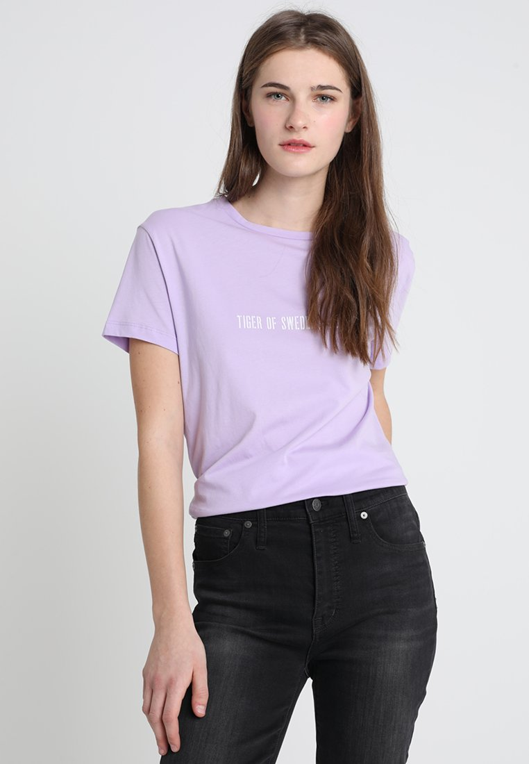 Tiger of Sweden Jeans - DAWN PR - T-shirt imprimé - lilac breeze