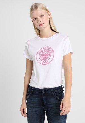 NICE - Print T-shirt - white