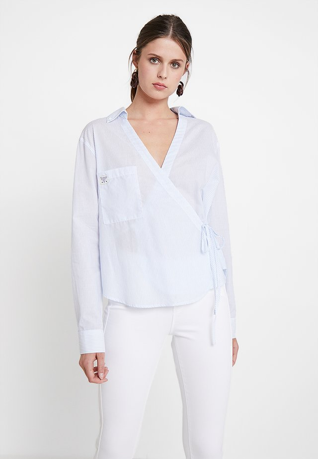 HAYAL - Blouse - chambray blue
