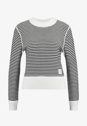 CAIRN - Strikkegenser - black/white