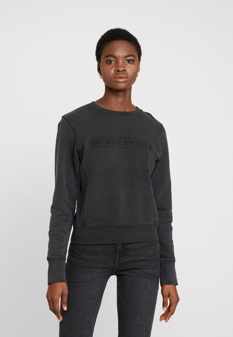 Tiger of Sweden Jeans - OBSESSA - Sweatshirt - black
