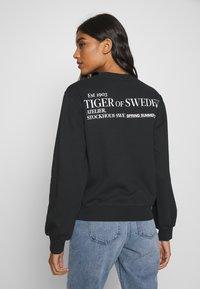 Tiger of Sweden Jeans - HELMA  - Sweatshirt - black - 2