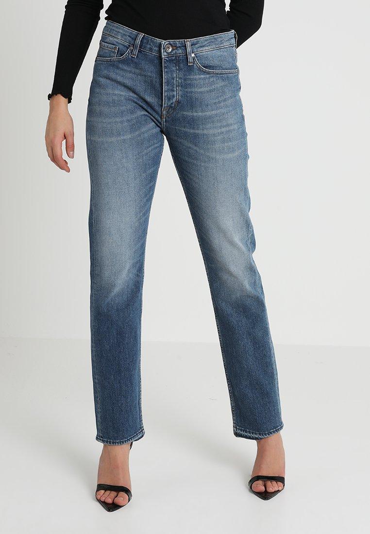 Tiger of Sweden Jeans - AUDE - Jeans Straight Leg - dark-blue denim