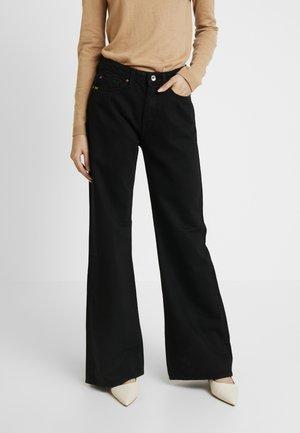 AYA - Jeansy Straight Leg - black