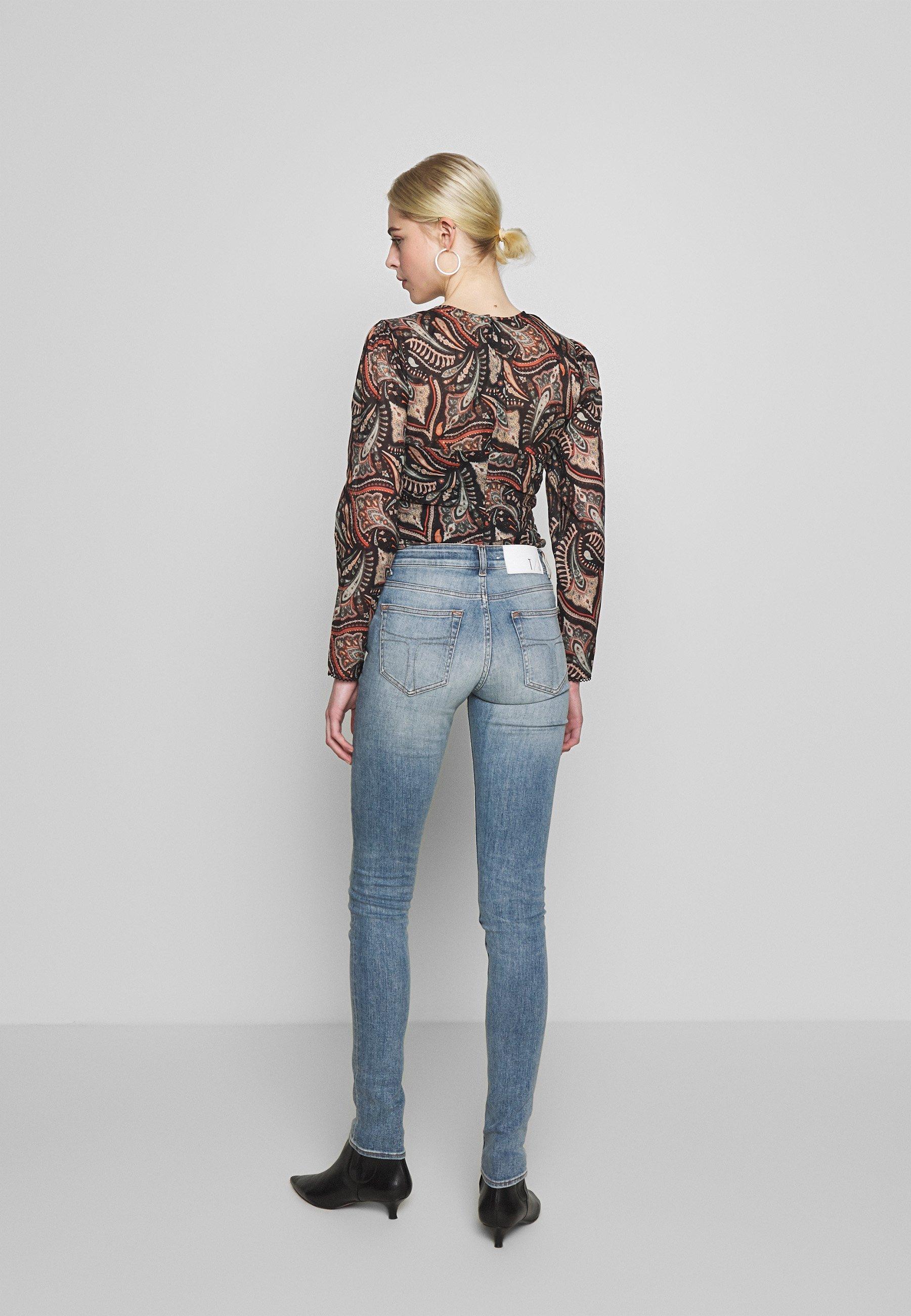 Tiger of Sweden Jeans SLIGHT - Jeansy Skinny Fit - light blue