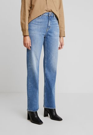 FRAN - Džíny Straight Fit - light blue