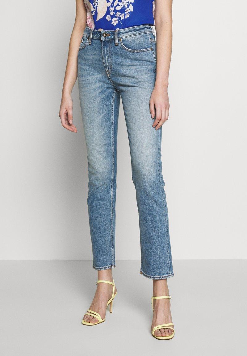 Tiger of Sweden Jeans - MEG - Džíny Straight Fit - light blue
