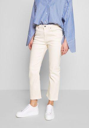 AZE - Flared jeans - ecru denim
