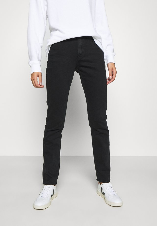 MEG - Jeans straight leg - black