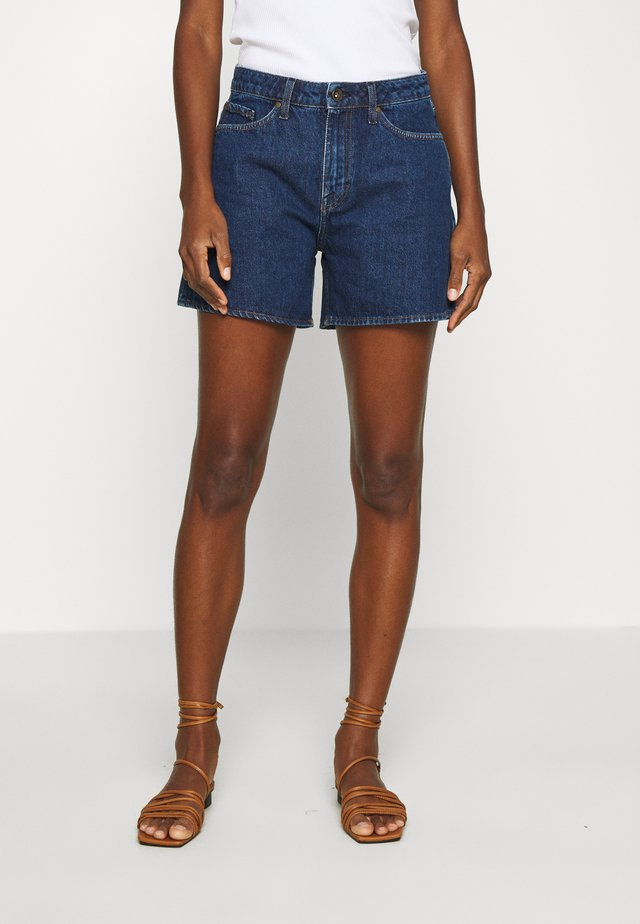 MINAA - Jeans Short / cowboy shorts - royal blue