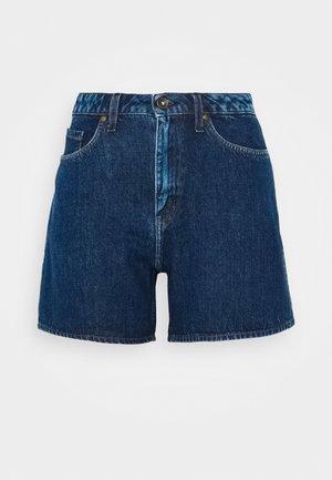 MINAA - Shorts di jeans - royal blue