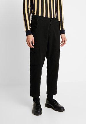 JET  - Cargo trousers - black