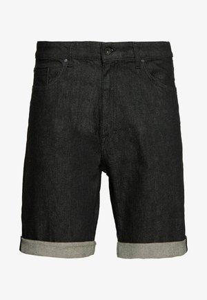 ASH… - Shorts di jeans - black