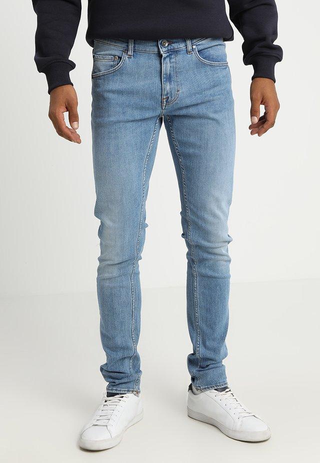 SLIM - Jeans slim fit - light-blue denim