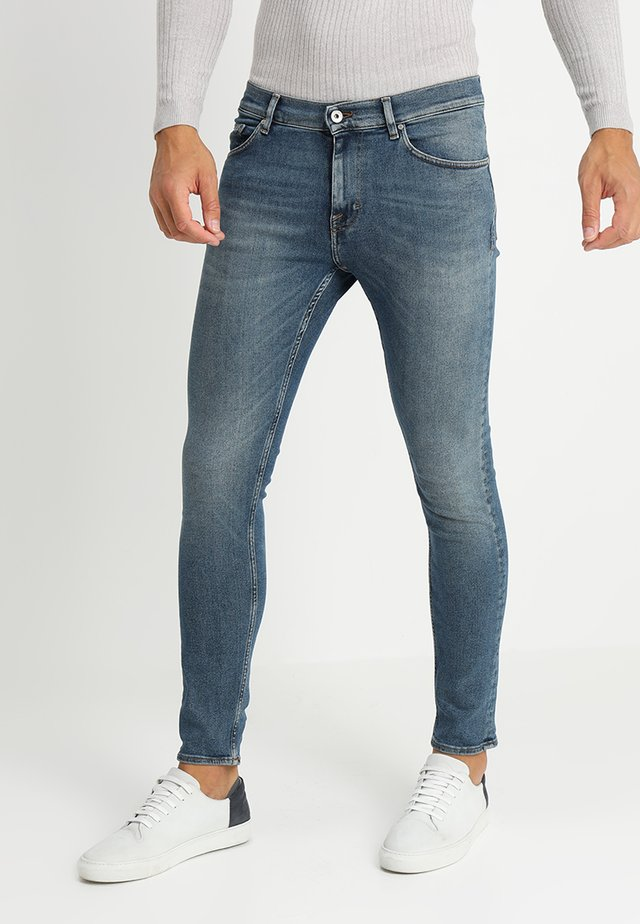 EVOLVE - Jeans slim fit - blue denim