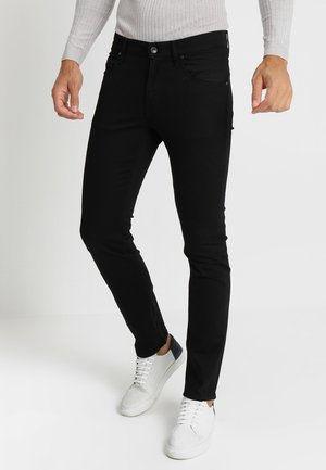 IGGY - Jeansy Relaxed Fit - black denim