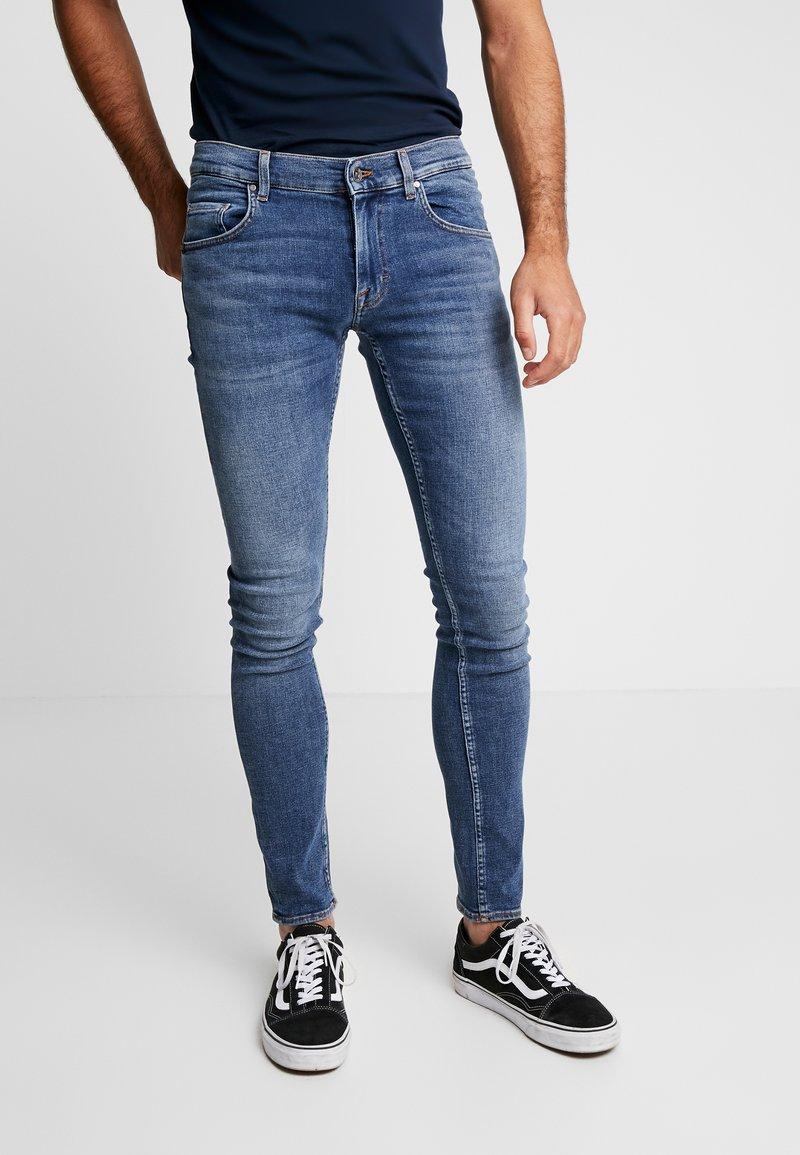 Tiger of Sweden Jeans - SLIM - Jeans Skinny Fit - blue denim