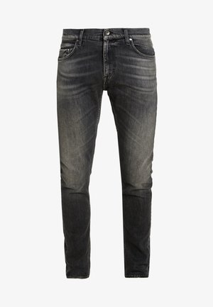 PISTOLERO - Slim fit jeans - black denim