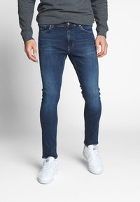 Tiger of Sweden Jeans - EVOLVE - Jeansy Slim Fit - royal blue - 0