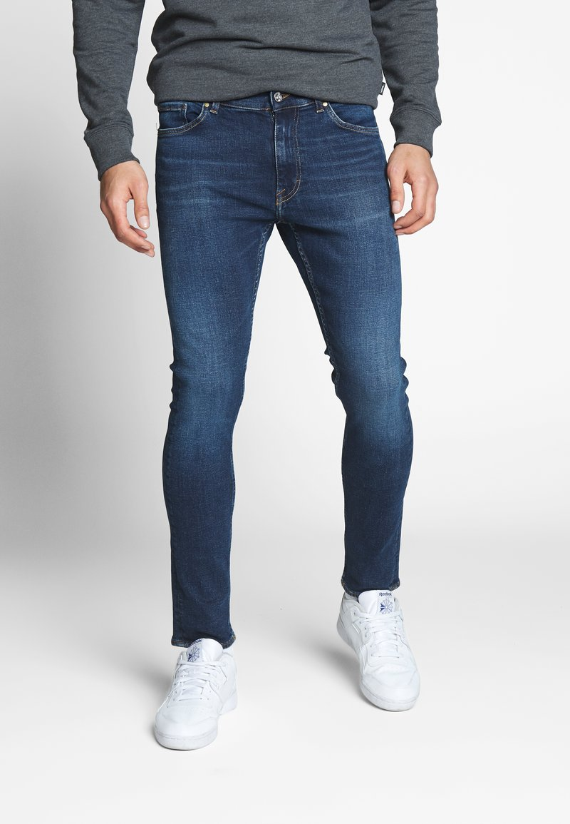 Tiger of Sweden Jeans - EVOLVE - Jeansy Slim Fit - royal blue