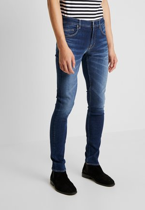 Jeansy Slim Fit - royal blue