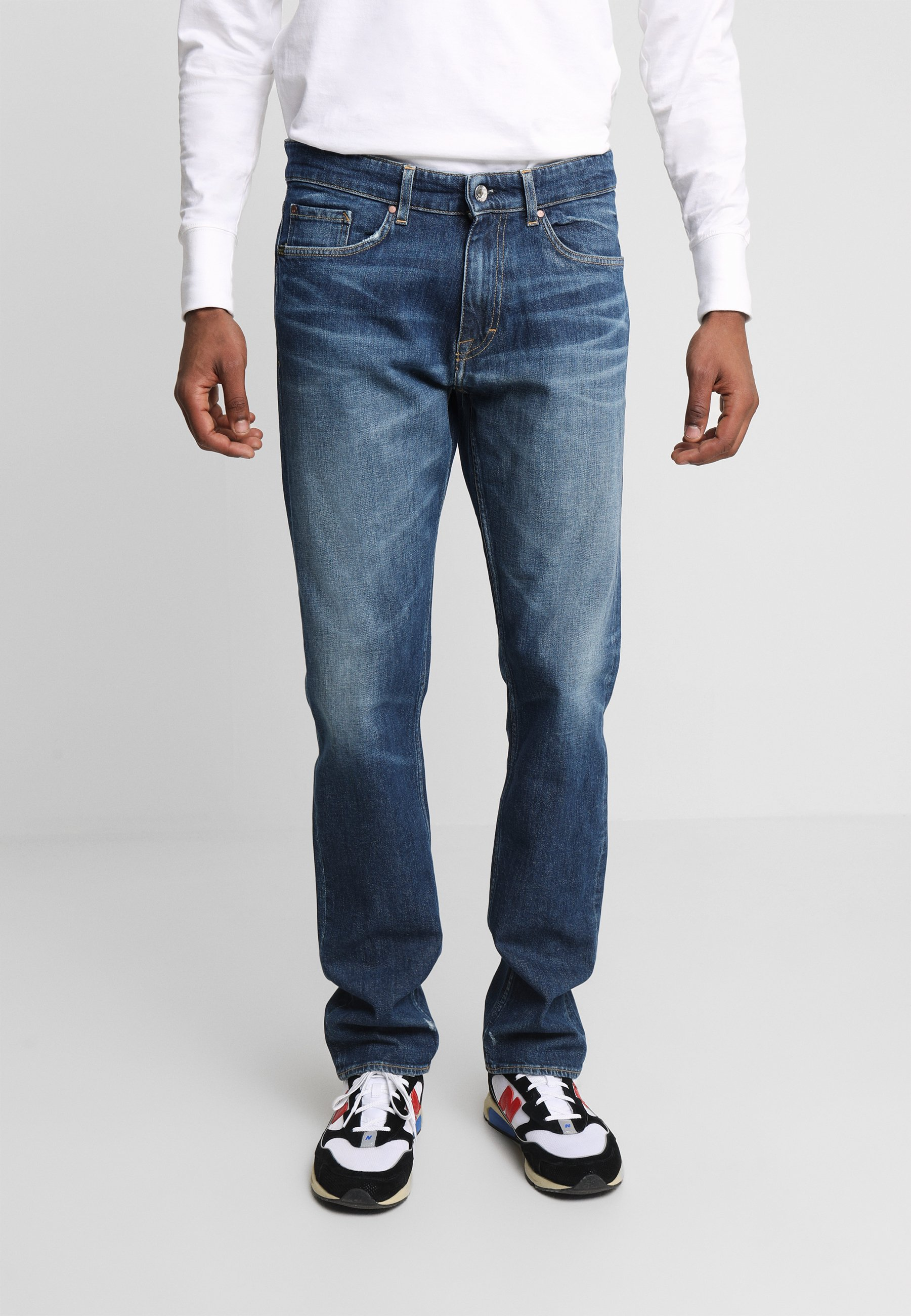 Tiger of Sweden Jeans REX - Jeansy Straight Leg - royal blue