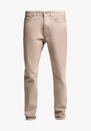 NIX - Relaxed fit jeans - sand