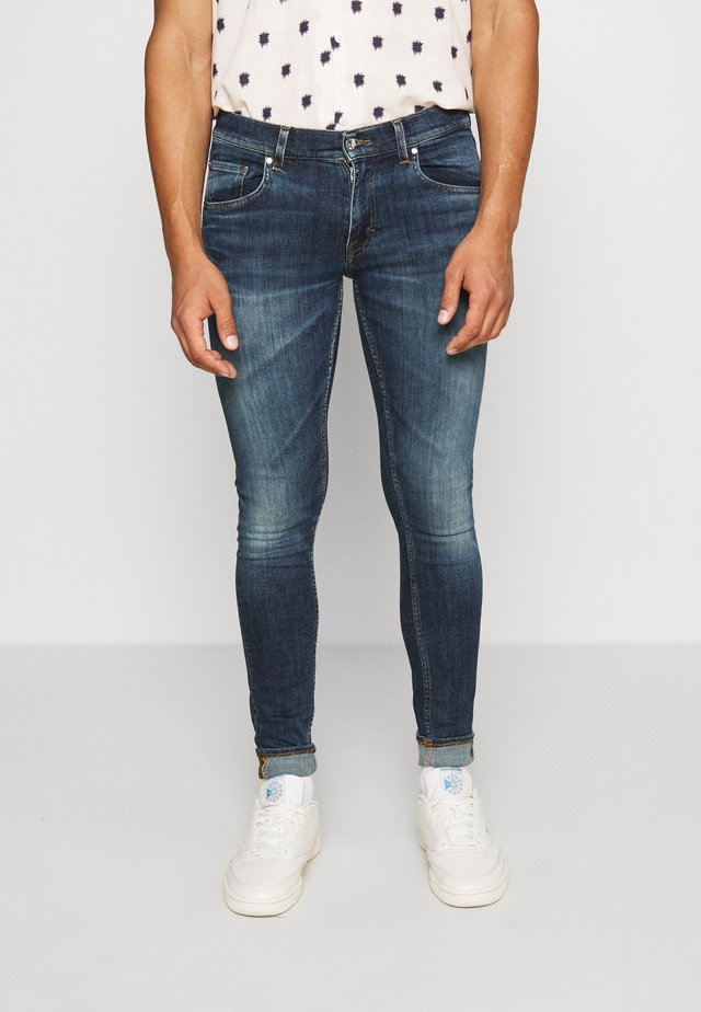 Slim fit jeans - royal blue