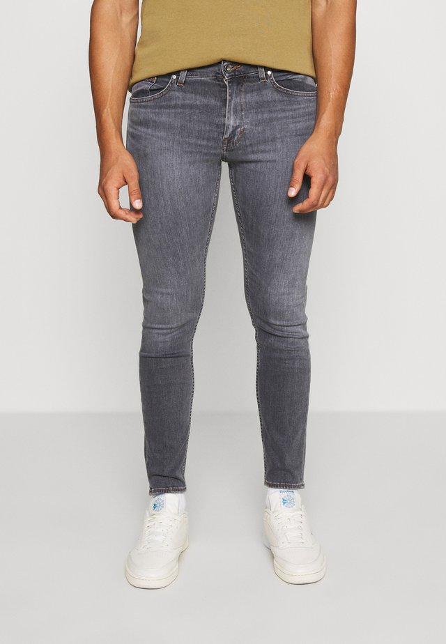 EVOLVE - Slim fit jeans - grey denim